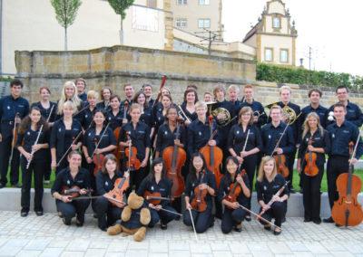 Gruppenbild Schloss Kapfenburg 2012